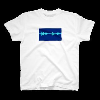 YUKITEROの声紋 T-shirts