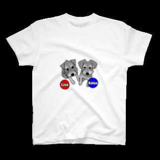 PetTeeのリーズとコーラス!! T-shirts