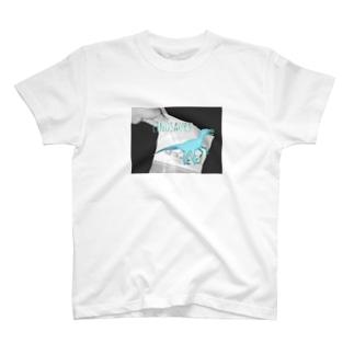 ブルーアイズラプトル T-shirts