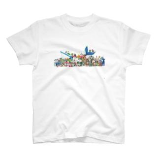 ファッションアニマルズ T-shirts