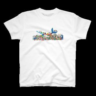 りんたのファッションアニマルズ T-shirts
