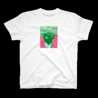 新しい映像のswimmer【販売終了】 T-shirts