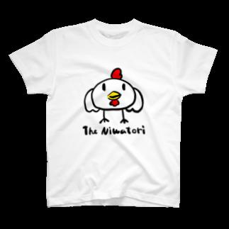 null shopのにわとり T-shirts