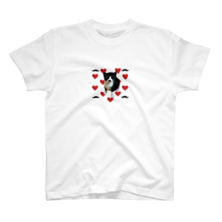 保護猫活動家すみパンさん家への支援グッズ!のNo.11 限定5個! ヒゲレモンちゃんグッズ♪ T-shirts