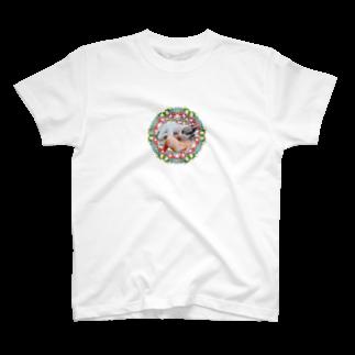 保護猫カフェ「駒猫」さん家のNo.4 イチゴちゃん♪ T-shirts