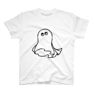 おばけ(黒) T-shirts