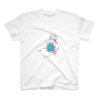 花束と男の子 T-shirts