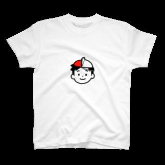 のりま屋の体操帽子くん T-shirts