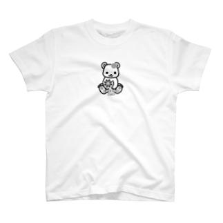 chamannuの花火くまちゃん(Firework Bear) T-shirts