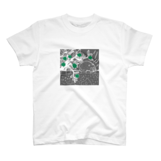 uwotomoの猫と柚子 T-shirts
