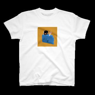 隠れ家的なアレのcheese T-shirts