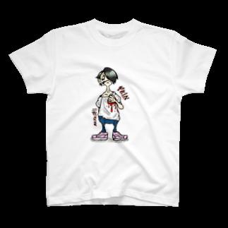 t.n.416の痛い T-shirts
