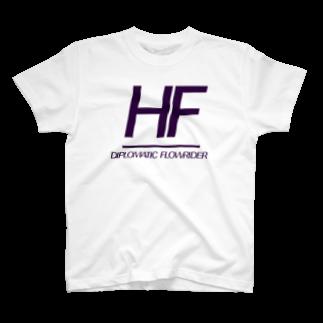 SANGOLOWARTZのHF_DIPLOMATIC FLOWRIDER T-shirts
