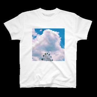 natsu__hankenの乗りたかった観覧車 T-shirts