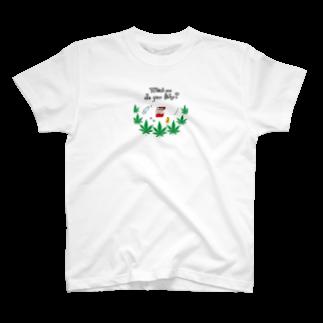 chamannuのB-boy🔞ラッパー好き(chill) T-shirts