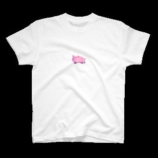 notteのpig T-shirts