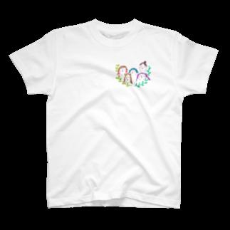 KAKINOTANEの女子会 T-shirts