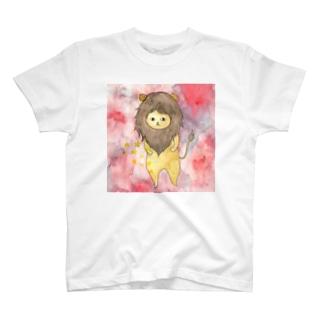 しし座のネコ T-shirts