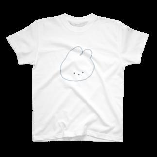madoromiのしんぷるぷるうさご T-shirts