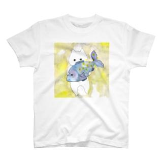 うお座のネコ T-shirts