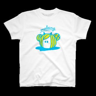 サフランのmelting T-shirts