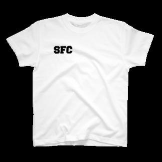 SLOWSWEETのBOXロゴ (Back print改) T-shirts