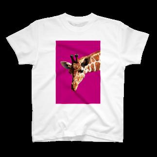 naotobrownのキリン T-shirts