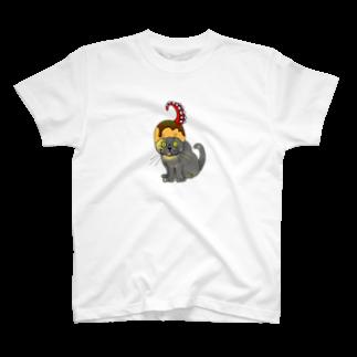 fukunekoyokocyouのaoさんたこ焼き T-shirts