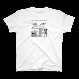 marketUの[バックプリント+]キュアキンカ × ソムリエ 4コマ T-shirts