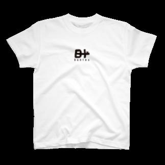 テンクロのbuntasロゴT T-shirts