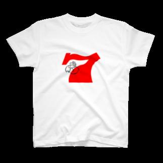 BUSCEMISの7gorilla T-shirts
