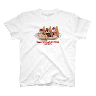 ICECREAMFORYOUのSCOOPS AHOY BANANA SPLIT T-shirts