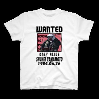 山本修平F.C  の高知No.1ピッグシルエット T-shirts