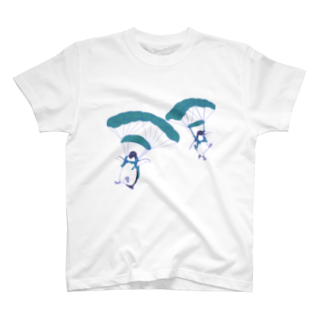 N谷すたじおのペンギンスカイダイバーズ(飛行機なし) T-shirts