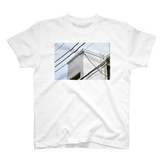 電線とかど1 T-shirts