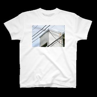 石山蓮華の電線とかど1 T-shirts