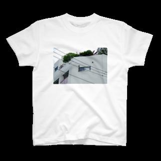 石山蓮華の電線とかど2  T-shirts