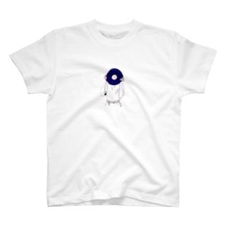 レコード好きなあの子 T-shirts