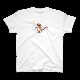 OKOMEchanの猫TEA T-shirts