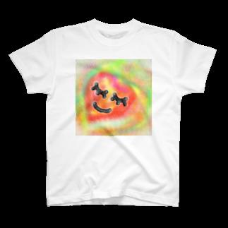 happymoonkobeのhappymoonkobe love T-shirts