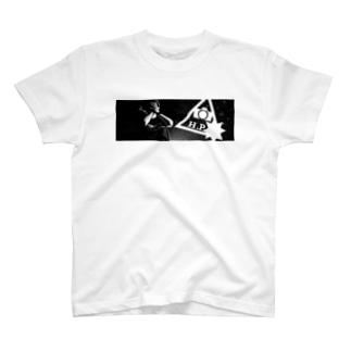 肘爆photoT ver. ポートレート T-shirts