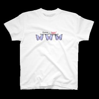 Lua lebreの愛憎T T-shirts