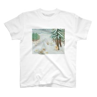 羊雪季節 T-shirts