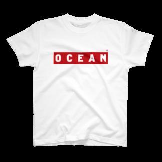 ウェブプラ屋のRED OCEAN T-shirts