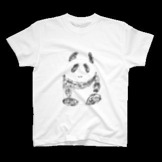 manamanawaruのパンダ⁉️ T-shirts