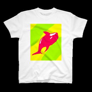 Eatn-kkのKiller whale T-shirts