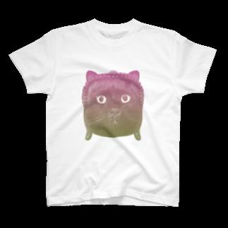太郎庵のperfect cat T-shirts