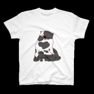 mugioのあの犬/冒犬 T-shirts
