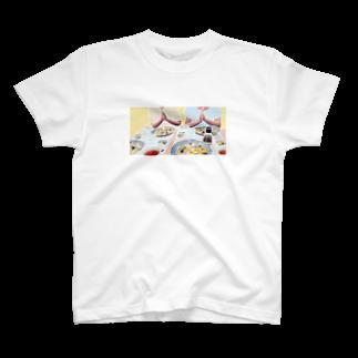 kokeshioのいただきます T-shirts