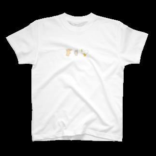 しょっぷオブもふの走る動物たち T-shirts